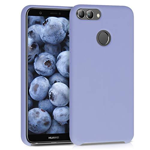 kwmobile Coque Compatible avec Huawei Enjoy 7S / P Smart (2017) - Housse de téléphone Protection Souple en TPU Silicone - Gris Lavande