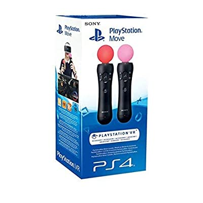 Sony - PlayStation Move Sony 82756 (2 pcs) Black (Renewed)