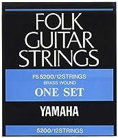 ヤマハ YAMAHA 12弦フォークギター用セット弦 FS5200