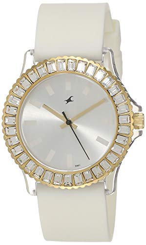 Fastrack Hip Hop Analog White Dial Women's Watch -NL9827PP01