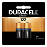 Ultra High-Power Lithium Battery, 123, 3V, 2/Pack, Sold as 1 Package
