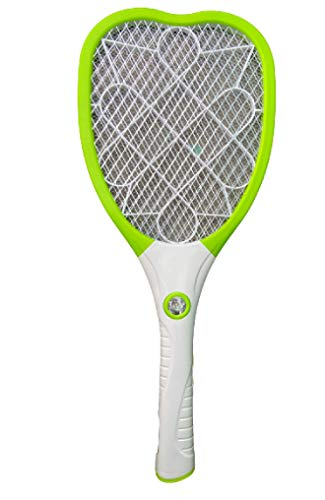 PaxMore Home Electric Fly Mosquito Swatter USB Rechargeable Fly Swatter Large Mosquito Killer Bug Zapper Racket For Indoor Outdoor