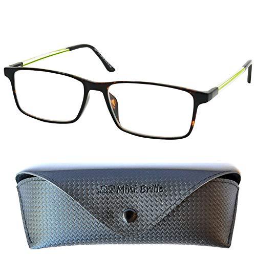 Gafas con Filtro de Luz Azul Clásicas Tipo Line con Cristales Rectangulares,...