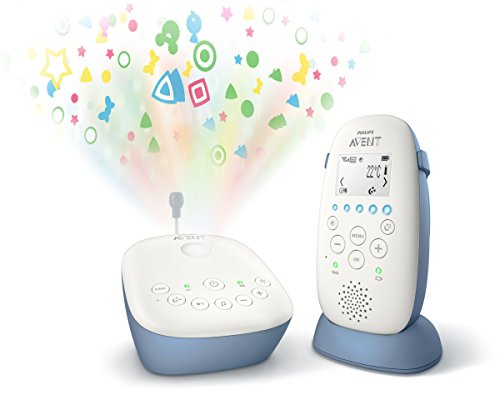 Ecoute bébé veilleuse DECT SCD735/00 - Philips Avent