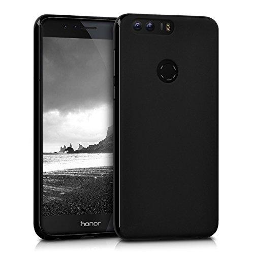 kwmobile Hülle kompatibel mit Huawei Honor 8 / Honor 8 Premium - Handyhülle - Handy Case in Schwarz matt