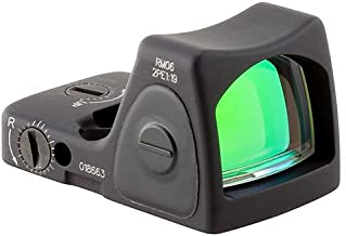 Trijicon RM06-C-700672 RMR Type 2 Adjustable LED Sight, 3.25 MOA Red Dot Reticle, Black