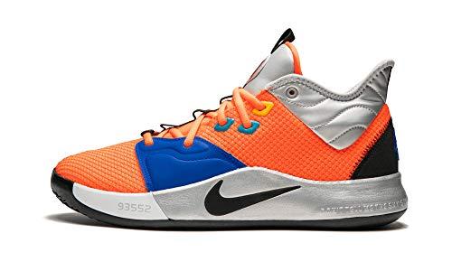 Nike PG3 (NASA), Total Orange / Black, 14