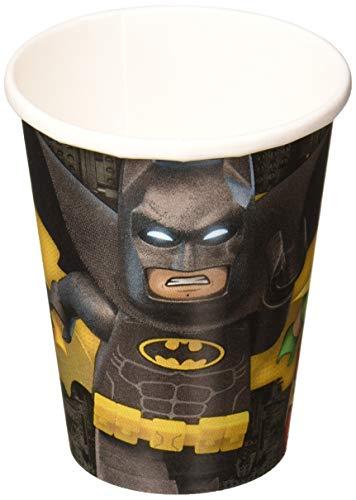 DC Comics LEGO Batman vasos de papel, 266ml, 8piezas