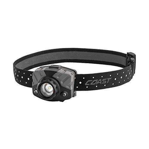 COAST FL78R 530 Lumen Rechargeable Tri-Color LED Headlamp with Twist Focus