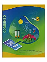Navneet Youva   Hard Bound   Combined Practical Book   21.5x26.5 cm   1 Ruled / 1 Plain   176 Pages   Pack of 1