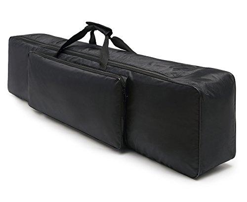 Durable Keyboard Gig Bag, Multifuncional Para Proteger y Almacenar o Viajar Con Su Teclado / Conveniente Para la Mayoría de 88 Teclas Teclado Electrónico y Pianos Digitales