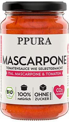 Tomatensauce - Mascarpone 340g | ppura