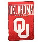 Northwest NCAA Collegiate Team Logo Fleece Throw Blanket 40' x 60' (Oklahoma Sooners)
