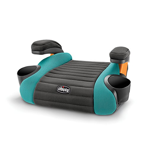GoFit Backless Booster Car Seat - Raindrop