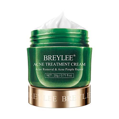 Luccase Teebaum Anti-Akne Creme Akne Behandlung Serum Facial Essence Glycerin Anti-Akne Creme für Entfernung Narben für Verschiedene Hauttypen