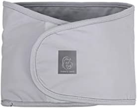 LOAOL Baby Swaddle Strap Infant Adjustable Arms Safe Sleeping Swaddle Wrap (Gray)