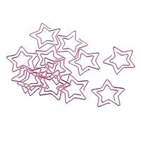 dailymall ゴールデンクリップカップの形のクリップクリエイティブでかわいい12個/パック - ピンク