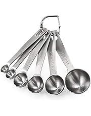 U-Taste 18/8 Stainless Steel Measuring Cups and Spoons Set