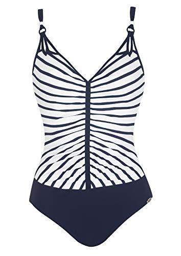 Sunflair Damen Basic Badeanzüge, Blau (Nachtblau 30), 44 (Herstellergröße: 44C)