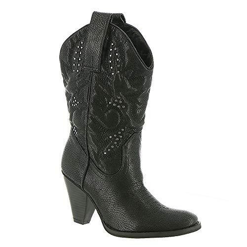 Very Volatile Nightbloom Women's Boot 6.5 B(M) US Black