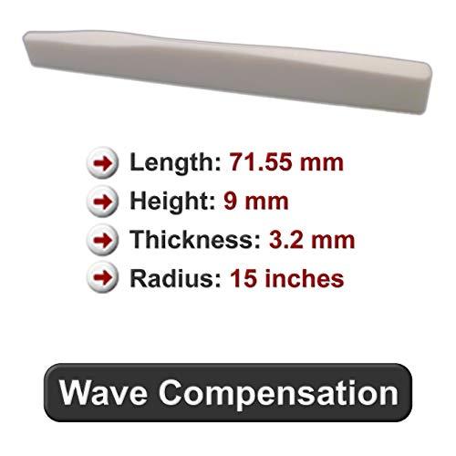 Knochen Sattel–passend für viele Taylor® Gitarren–Wave Stil Kompensation