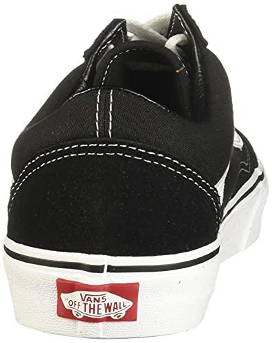 Vans Old Skool Platform, Sneaker Uomo, Nero (Black/White Y28), 41 EU
