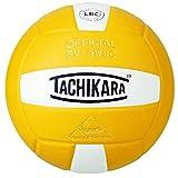 Tachikara Sensi-Tec Ballon de Volley-Ball Haute Performance (Blanc/Or)