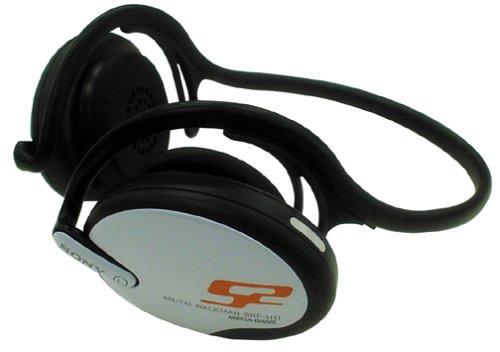 Sony SRF-H11 S2 Sports AM/FM Radio Walkman mit Rückstrahler Kopfhörer (Auslaufmodell)