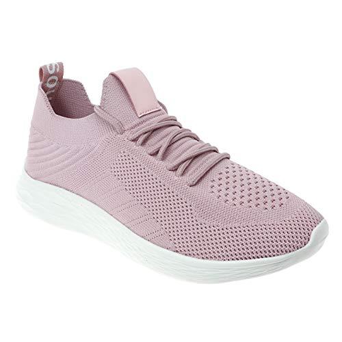 Pierre Dumas Outwoods Women's Pond Slip-on Fashion Sneakers 5 Blush 81535