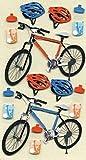 Artoz Artwork 3D Motiv-Sticker 185590-28,'Fahrräder, handmade