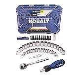 Kobalt 63-Piece Standard (SAE) and Metric Polished Chrome Mechanic's Tool Set