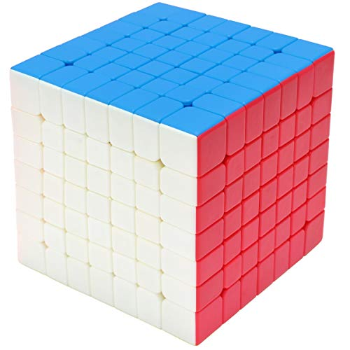 7x7 Zauberwürfel 7x7x7 Speed Cube Stickerless Magic Cube Puzzle Magischer Würfel