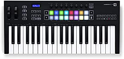 Novation Launchkey 37 [MK3] MIDI Keyboard Controller for Ableton Live