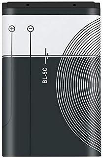 Petterson 1 st 1020 mAh kapacitet BL-5C telefon batteri för Nokia BL-5C 3,7 V 3,8 watt mobil ersättning batteri smartphone...
