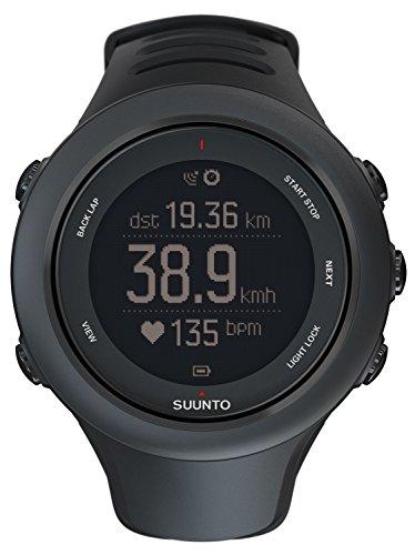 Suunto Ambit3 Sport Reloj con GPS Integrado, Unisex, Negro (Sports Black), Talla Única