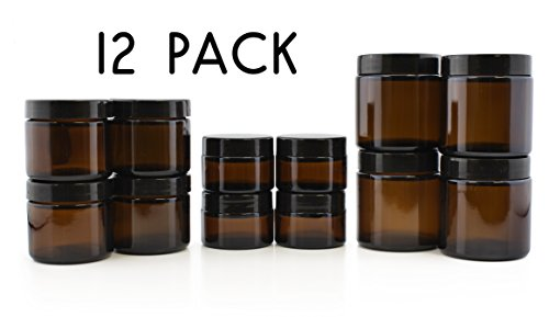 glass jars for essential oils - 2