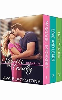 Voretti Family: Books 1-3 (Voretti Family Boxset Book 1) by [Ava Blackstone]