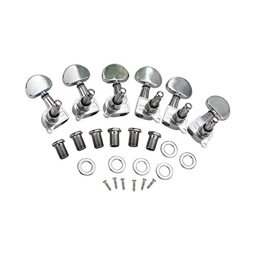 Guitar Parts 1 Set Chrome Classic Challenge the lowest Max 49% OFF price Pegs Keys Tuning