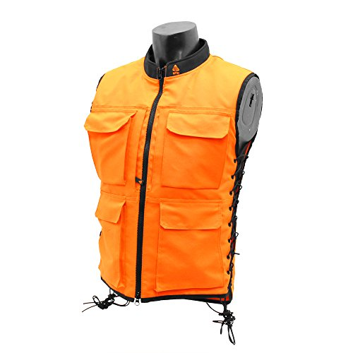 UTG True Hunter Male Sporting Vest (S to M), Orange/Black