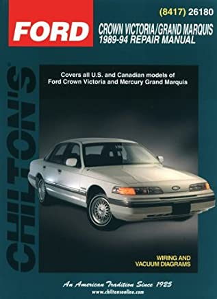 Ford: Crown Victoria/Grand Marquis 1989-94 (Chilton's Total ... on 94 mercury capri, 94 mercury topaz, 94 mercury mercury, 94 mercury mountaineer, 94 mercury villager,