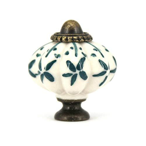 EYCFSJ Manopole Per Porte In Ceramica 10Pcs Manopole In Ceramica Dipinte A Mano Armadio Armadio Cassetto Manopole Cucina Camera Da Letto Maniglie In Ceramica Maniglie Tira