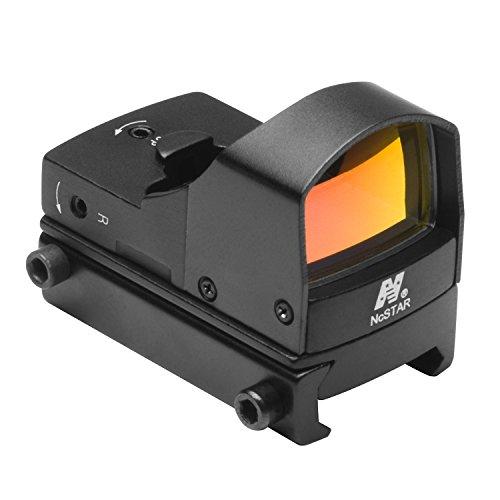 NcStar Compact Tactical Red Dot Reflex Sight/Weaver Base/Black (DDAB)