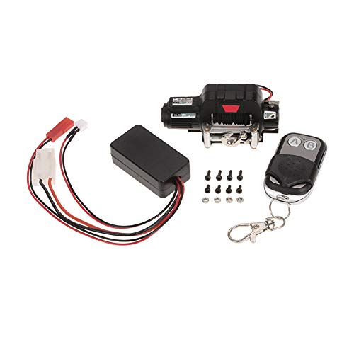 heaven2017 Set of 3 Wired Automatic Winch Controller Wireless Receiver for 1/10 RC Rock Crawler