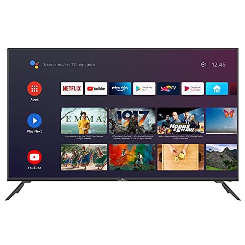 "Smart Tech TV LED UHD 4K Android/Netflix 50"" 127cm, T2/S2/C, Dolby Audio"