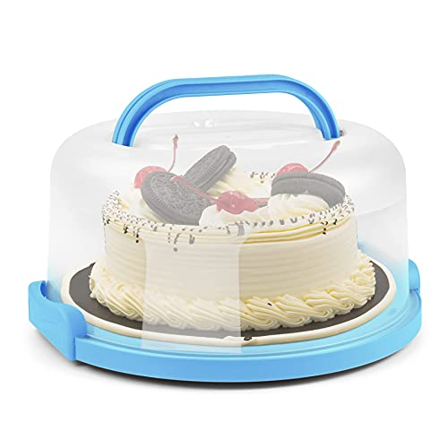 Cake Storage Container with handle, 10inch Cake Carriers with Cupcake...