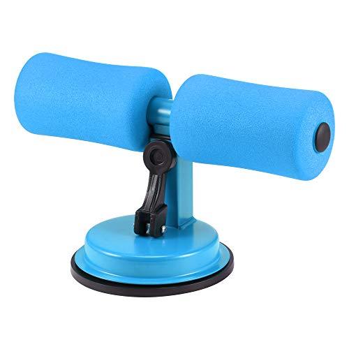 FreeLeben Multifunktionale verstellbare Sit-Up-Stange, Haushaltsgeräte-Fitnessgerät für Bauchmuskel-Trainingsgeräte, tragbare Selbstsaug-Situp-Stange