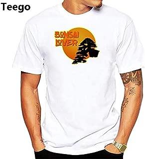 Peace Design Bonsai Art Tshirt Men jollypeach White Casual t Shirt Homme Comfortable Skin Friendly Plus Size t-Shirt : pn1989, Women M