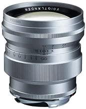 Voigtlander 75mm f1.5 ASPHERIC Nokton Vintage line, Silver
