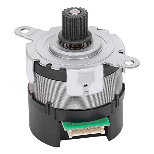 Dientes de Acero Motor sin escobillas DC de Doble Canal Motor de Engranajes Servomotor de Alta torsión para Coche de Juguete para Soportes de exhibición para máquinas expendedoras(24V)