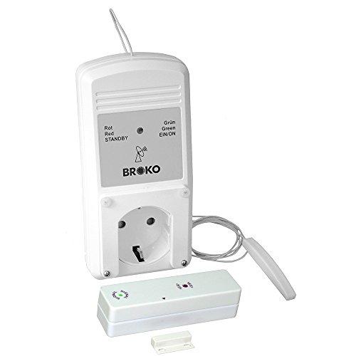 BROKO Funk-Sicherheits-Abluftsteuerung BL220FA(SG) mit Außenantenne/Funkschalter/Antenne/Ersatzteil/Dunstabzugshaubensteuerung